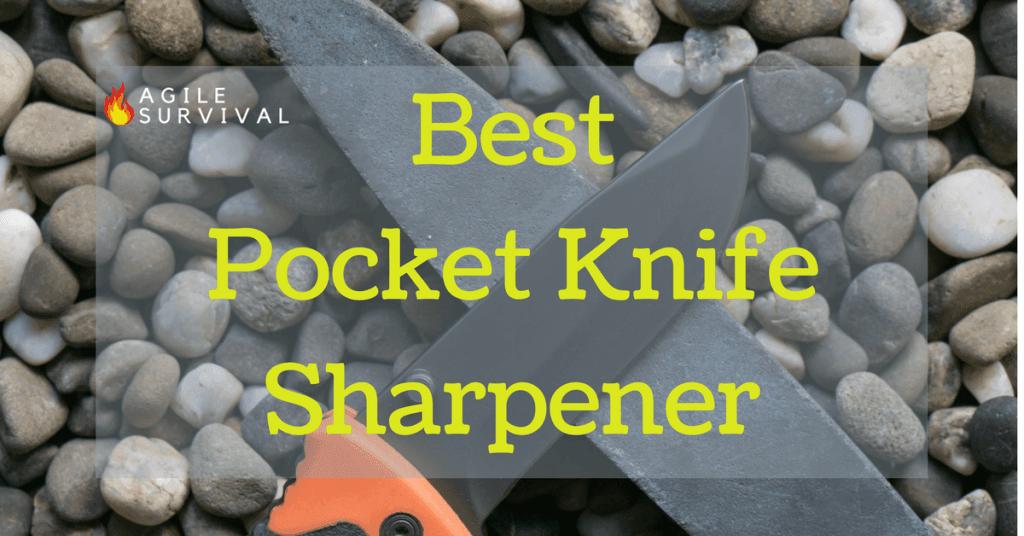 Discover the best pocket knife sharpener on the market today.