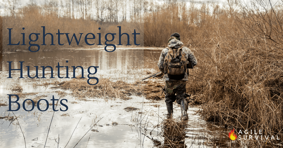 Find the best lightweight waterproof hunting boots for the money.